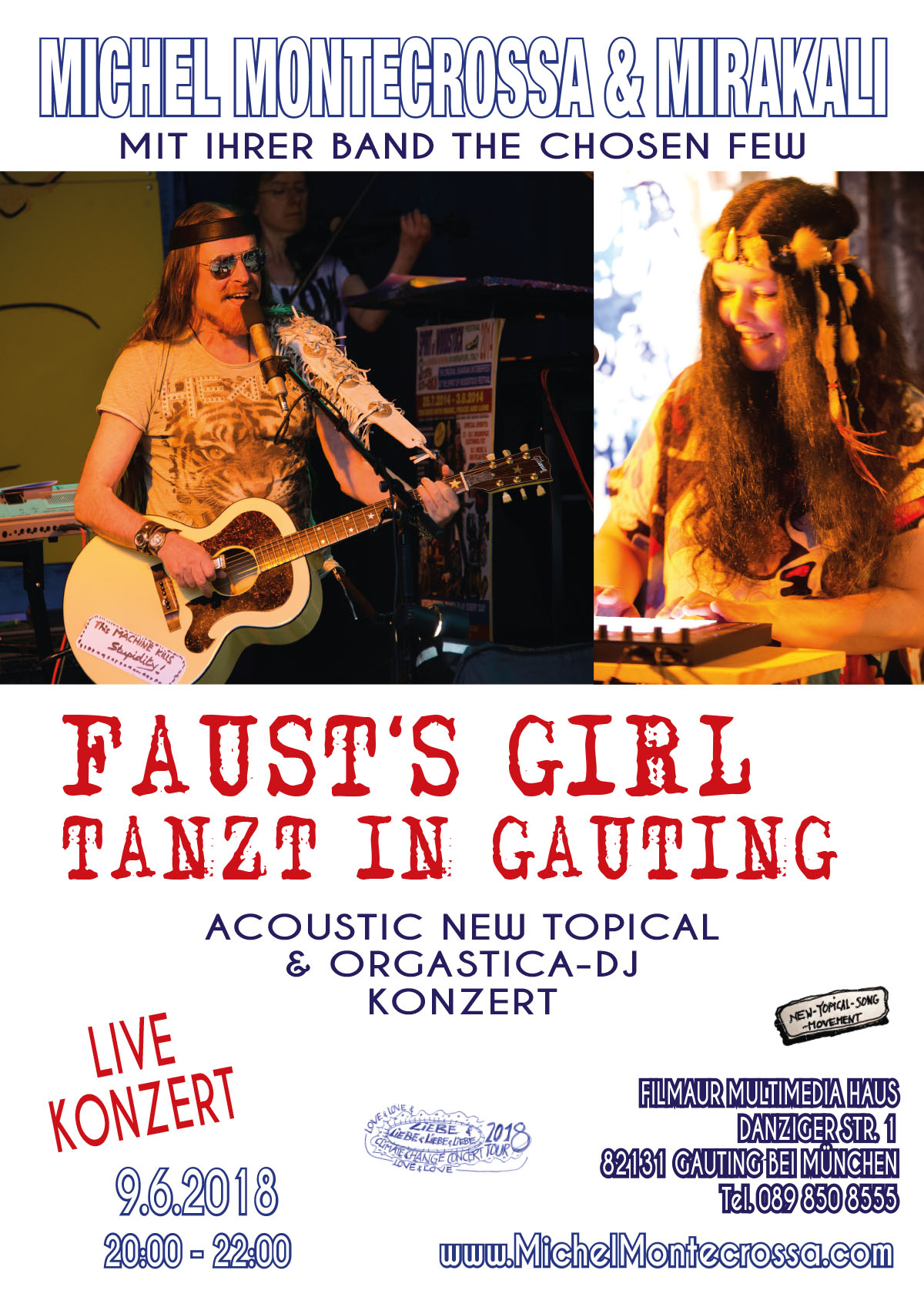 Faust Girls tant in Gauting